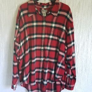 NWOT Wrangler Flannel Woman's Shirt XXL